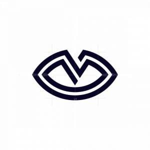 Letter V Vision Logo