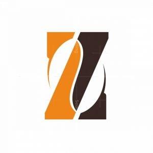 Letter Z Coffee Logo