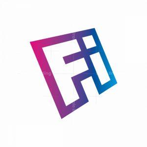 Letters Fi Logo