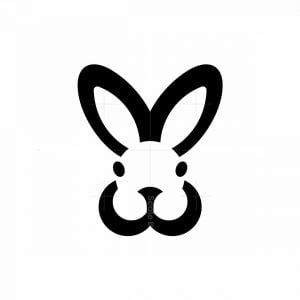 Letters Mw Wm Rabbit Logo