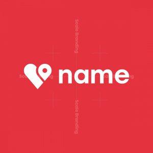 Love Dating Location Logo