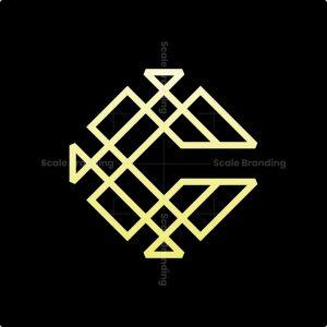 Luxury C Monoline Logo