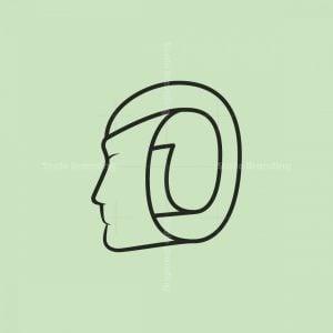 Minimal Head Paper Logo