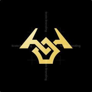 Minimalist Luxury Odin Head Logo