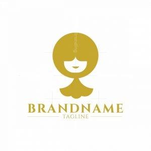 Minimalist Small Lady Fashion Logo