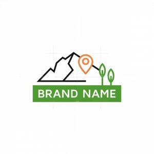 Mountains Hike Logo