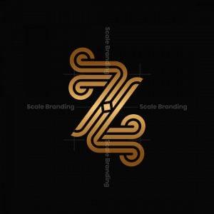 Ornament Z Letter Logos
