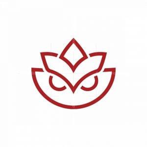 Owl Lotus Logo
