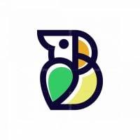 Parrot Letter B Logo
