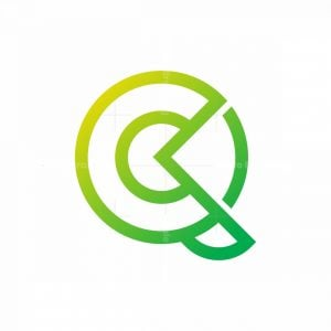 Letter Q And C Logo