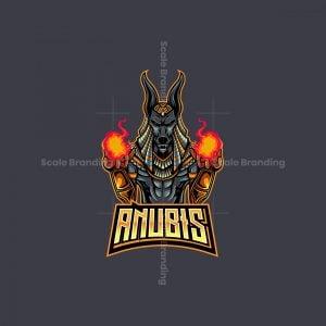 Anubis Gaming Mascot Logo