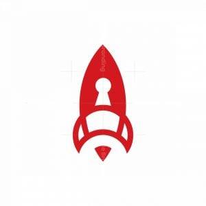 Rocket Keyhole Logo