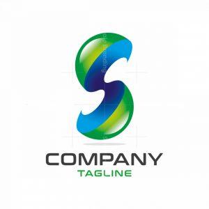 3d Letter S Logo