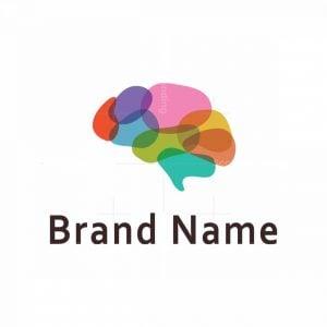 Colourful Brain Logo