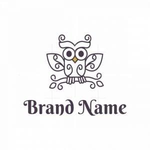 Beautiful Owl Logo