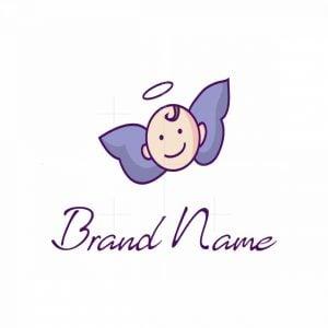 Baby Angel Logo