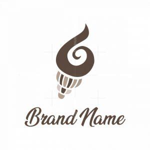 Beautiful Seashell Logo