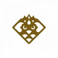 Stylish Eagle King Logo