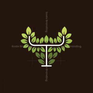 Taurus Leaf Logo