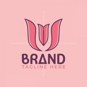 W Or M Fresh Tulip Logo