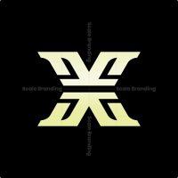 X Luxury Monogram Logo