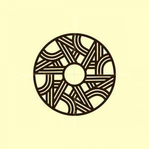 Elegant Circle A Logo