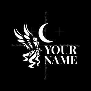 Angel Of Moon Logo