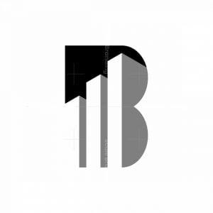 Letter B Tower Logo