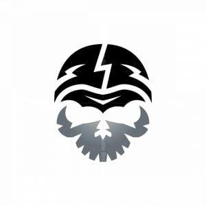 Bat Skull Logo