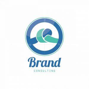 Blue Knot Symbol Logo