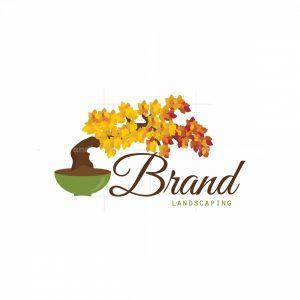 Bonsai Tree Pictorial Logo