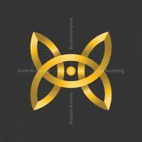Butterfly Eye Logo