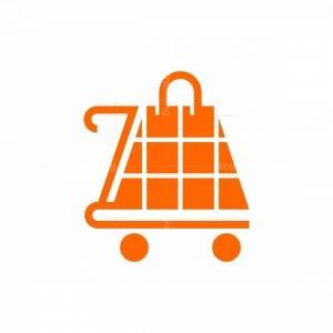 Cart Bag Shop Logo