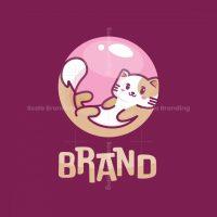 Cat Bubble Logo