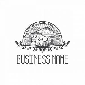 Cheesemonger Pictorial Logo