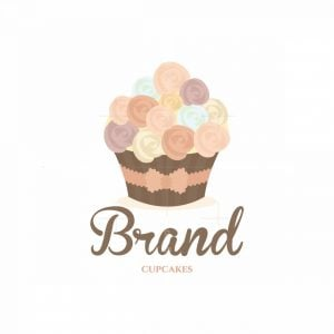 Classy Cupcakes Wedding Pictorial Logo
