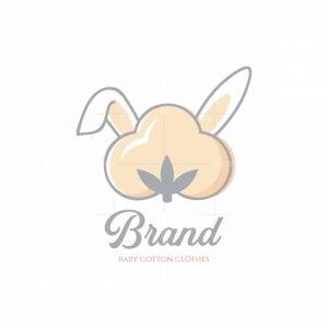 Cotton Hare Baby Clothes Symbol Logo