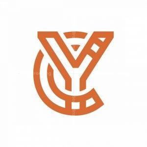 Cy Monogram Logo Cy Yc Logo