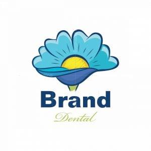 Dental Flower Pictorial Logo