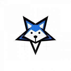 Dog Star Icon Logo