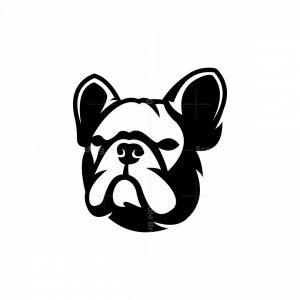 French Bulldog Mascot Logo