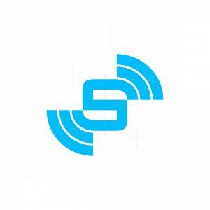Cool S Wifi Signal Logo