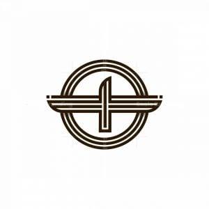 Cool Abstract Bird Logo