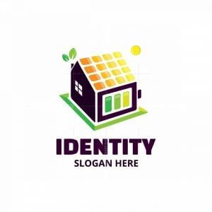 Solar Powered Home Logo