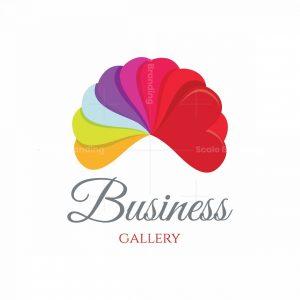 Eight Heart Gallery Symbol Logo