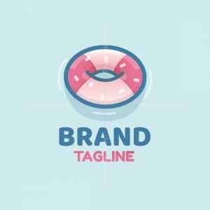 Floating Doughnut Logo