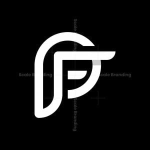 Letter Fp Monogram Logo