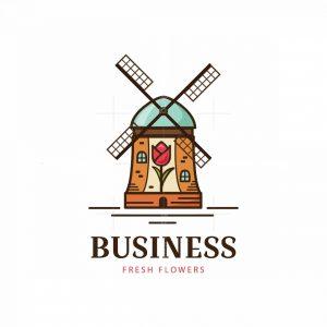 Fresh Tulips Pictorial Logo