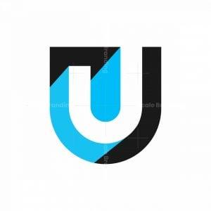 U Or Uj Or J 3d Isometric Logo