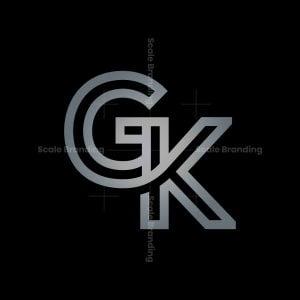 Gk Monogram Logo Gk Kg Logo